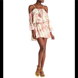 Tiara Hawaii Kris Cold Shoulder Dress